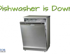 Dishwasher is down