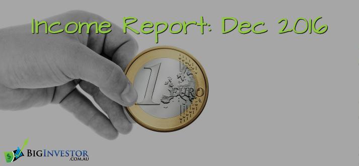 Income Report - Dec 2016