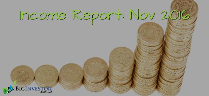 Income Report - Nov 2016